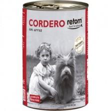 Retorn Lata Perro Cordero con Arroz 400 gr