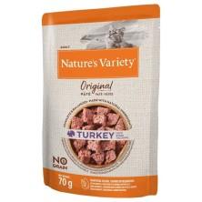 Nature´s Variety Original Paté Gato Pavo 70 gr