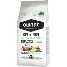 Ownat Hipoalergénico Grain Free Cerdo 14 Kg