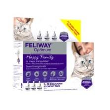 Feliway Optimum Recambio Pack 3 x 48 ml