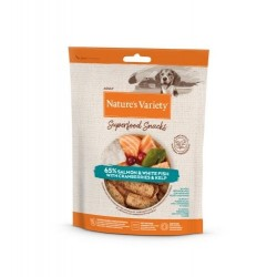 Nature's Variety Superfood Snack Salmon 85 Gr