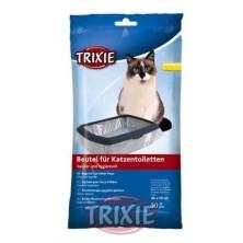 10 Sacos para bandeja higiênica gatos,até 56x71cm