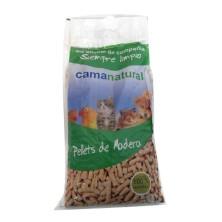"""Cama Natural """"Pellets"""" de Madeira 10 Litros"""