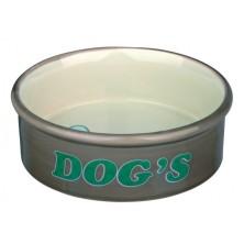 Comedouro Cerám. Dog's 0.3 l, ø12 cm