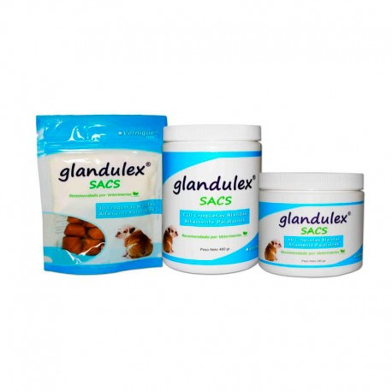 Glandulex Sacs para Glándulas Anales 30 Croquetas