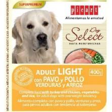 Picart Adult Light con Pavo, Pollo, Verduras y Arroz 400 Gr