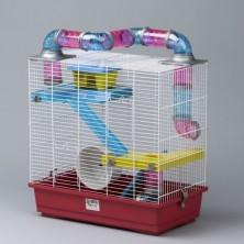 Jaula Hamster 3 pisos 50 cm
