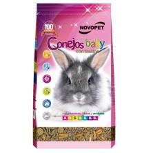 Novopet Conejos Baby con Inulina 800 Gr