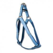 Arnés Mac Leather Azul Super Grande