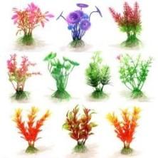 Planta Plástico para Acuario 10 cm