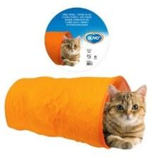 Duvo Túnel Cilíndrico para Gatos Naranja