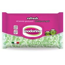 Toalhetes Indorina Refresh Clorexidina 40 unidades