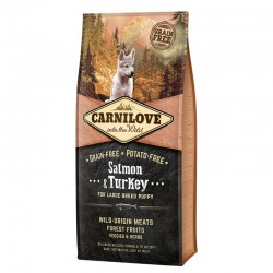 Carnilove Puppy Large Salmón Pavo 12 Kg