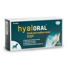 Hyaloral Condroprotector Razas Pequeñas y Medianas 90 Comprimidos