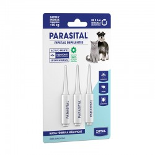 Parasital Pipetas Cães Pequenos e Gatos