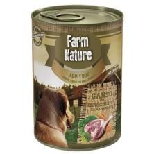 Farm Nature Ganso con Brócoli y Zanahorias 400 g
