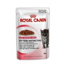 Royal Canin Kitten Gelatina comida húmeda 85 Gr