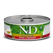 Farmina ND Cat Prime Pollo y Granada 80 Gr