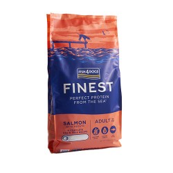 Fish4Dogs Finest Salmón Complete 1,5 Kg Small Bite
