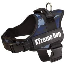 Arnés Xtreme Dog Camo Azul