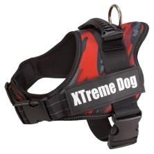 Arnés Xtreme Dog Camo Rojo