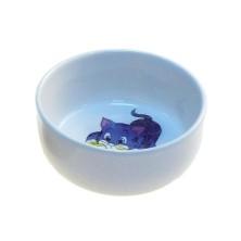 Comedero Ceramica Gatitos 0,3L 11cm