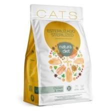Natura Diet Cat Sterilized Chicken 400 gr