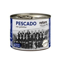 Retorn Lata Perro Pescado y Patata 185 gr