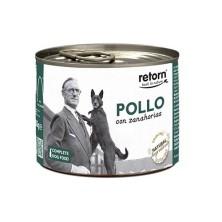 Retorn Lata Perro Pollo con Zanahorias 185 gr