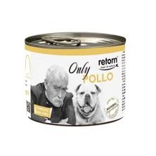 Retorn Lata Perro Only Pollo 185 gr